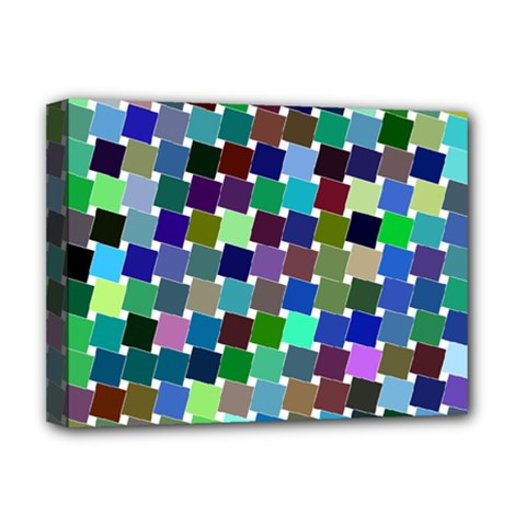 Geometric Background Colorful Deluxe Canvas 16  X 12  (stretched)