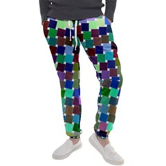 Geometric Background Colorful Men s Jogger Sweatpants