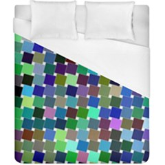 Geometric Background Colorful Duvet Cover (california King Size)