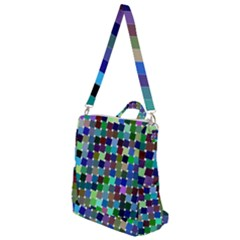 Geometric Background Colorful Crossbody Backpack