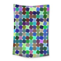 Geometric Background Colorful Small Tapestry
