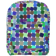 Geometric Background Colorful Full Print Backpack