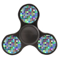 Geometric Background Colorful Finger Spinner