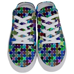 Geometric Background Colorful Half Slippers