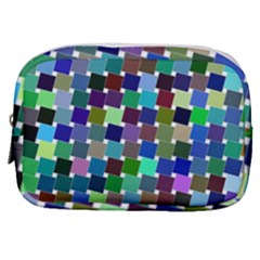 Geometric Background Colorful Make Up Pouch (small)