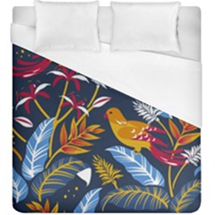Colorful Birds In Nature Duvet Cover (king Size)