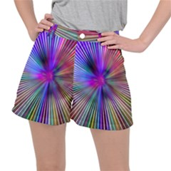 Rays Colorful Laser Ripstop Shorts