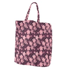 Cherry Blossoms Japanese Giant Grocery Tote