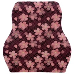 Cherry Blossoms Japanese Car Seat Velour Cushion