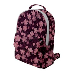 Cherry Blossoms Japanese Flap Pocket Backpack (large) by HermanTelo