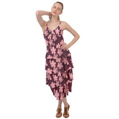 Cherry Blossoms Japanese Layered Bottom Dress by HermanTelo