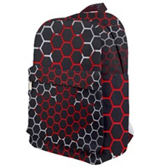 Canada Flag Hexagon Classic Backpack