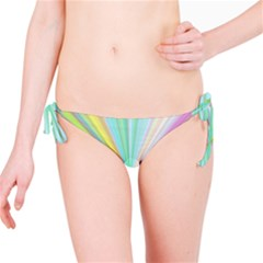 Background Burst Abstract Color Bikini Bottom