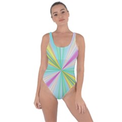 Background Burst Abstract Color Bring Sexy Back Swimsuit