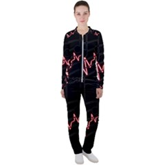 Music Wallpaper Heartbeat Melody Casual Jacket And Pants Set by HermanTelo