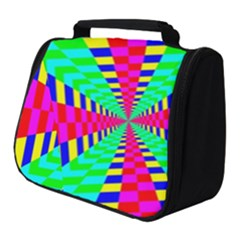 Maze Rainbow Vortex Full Print Travel Pouch (small) by HermanTelo