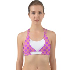Love Heart Valentine Back Web Sports Bra by HermanTelo