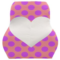 Love Heart Valentine Car Seat Back Cushion