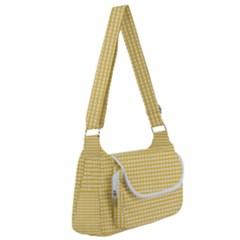 Gingham Plaid Fabric Pattern Yellow Multipack Bag