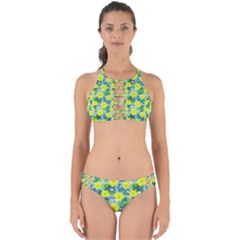 Narcissus Yellow Flowers Winter Perfectly Cut Out Bikini Set