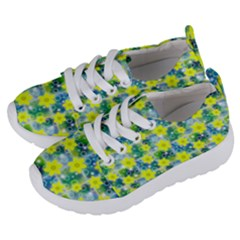 Narcissus Yellow Flowers Winter Kids  Lightweight Sports Shoes by HermanTelo