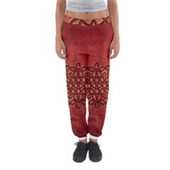 Elegant Decorative Celtic Knot Women s Jogger Sweatpants