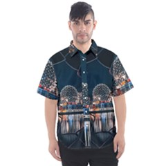 Silver Dome Men s Short Sleeve Shirt