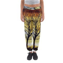 Branches Dawn Dusk Fall Women s Jogger Sweatpants