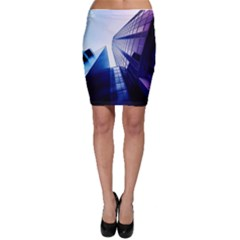Abstract Architectural Design Architecture Building Bodycon Skirt