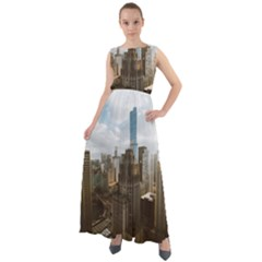 Architectural Design Architecture Buildings City Chiffon Mesh Maxi Dress