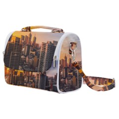 View Of High Rise Buildings During Day Time Satchel Shoulder Bag