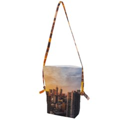 View Of High Rise Buildings During Day Time Folding Shoulder Bag