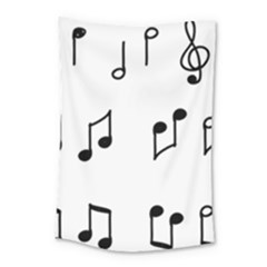 Piano Notes Music Small Tapestry by HermanTelo