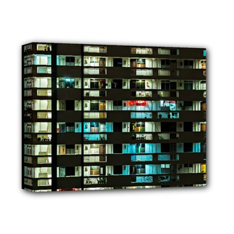 Architectural Design Architecture Building Cityscape Deluxe Canvas 14  X 11  (stretched)