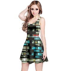 Architectural Design Architecture Building Cityscape Reversible Sleeveless Dress