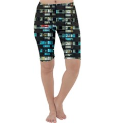 Architectural Design Architecture Building Cityscape Cropped Leggings