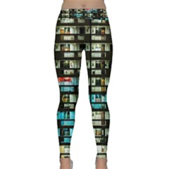 Architectural Design Architecture Building Cityscape Classic Yoga Leggings