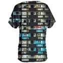 Architectural Design Architecture Building Cityscape Women s Oversized Tee View2