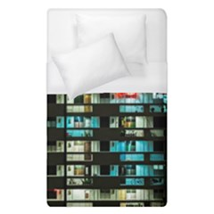 Architectural Design Architecture Building Cityscape Duvet Cover (single Size)