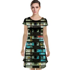 Architectural Design Architecture Building Cityscape Cap Sleeve Nightdress
