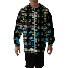 Architectural Design Architecture Building Cityscape Kids  Hooded Windbreaker