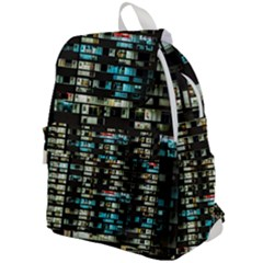 Architectural Design Architecture Building Cityscape Top Flap Backpack