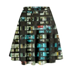 Architectural Design Architecture Building Cityscape High Waist Skirt
