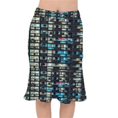 Architectural Design Architecture Building Cityscape Short Mermaid Skirt