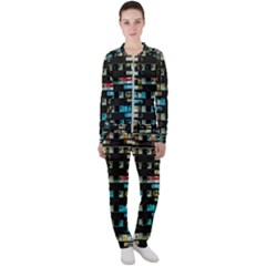 Architectural Design Architecture Building Cityscape Casual Jacket And Pants Set