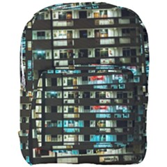 Architectural Design Architecture Building Cityscape Full Print Backpack