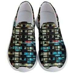 Architectural Design Architecture Building Cityscape Men s Lightweight Slip Ons