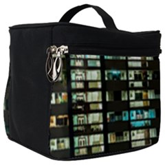 Architectural Design Architecture Building Cityscape Make Up Travel Bag (big)