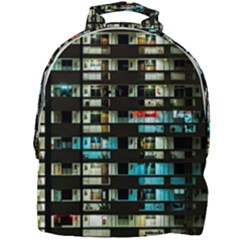 Architectural Design Architecture Building Cityscape Mini Full Print Backpack