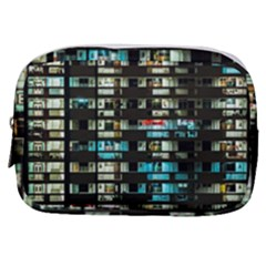 Architectural Design Architecture Building Cityscape Make Up Pouch (small)